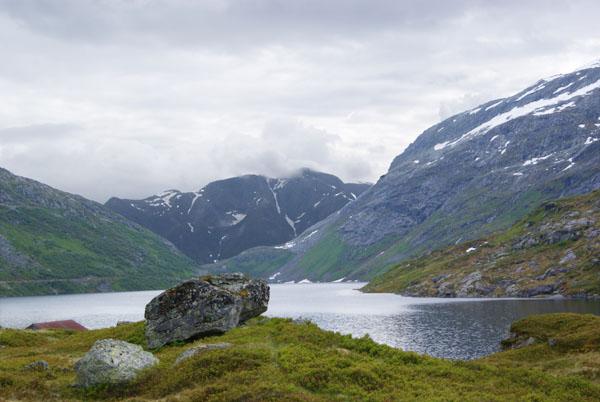 Норвежский пейзаж / Фото из Норвегии