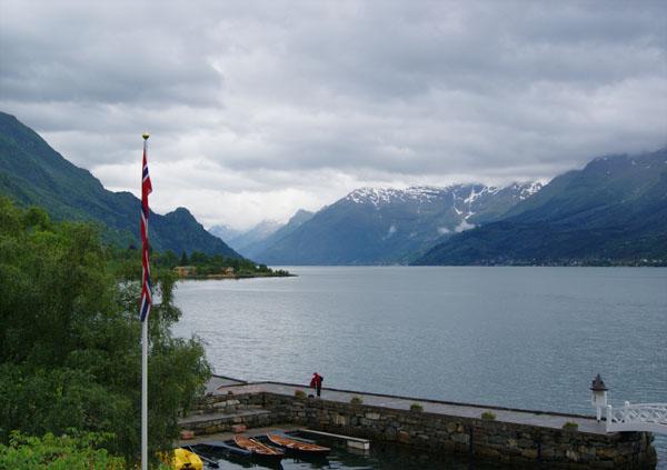 """Вид из окон отеля """"Уленсванг"""" на норвежские красоты / Фото из Норвегии"""
