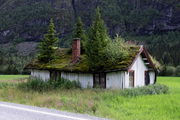 Норвежская крыша / Норвегия