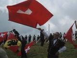 Метатели флагов / Швейцария