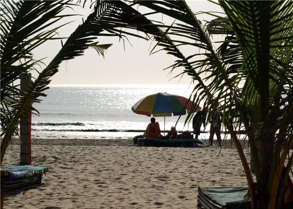 Пляж в Гамбии / Фото из Гамбии