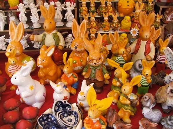 Зайцы на любой вкус, ярмарка в Нюрнберге / Фото из Германии