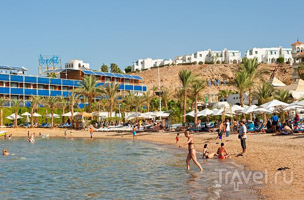 Пляж Wind Beach в Наама-Бей, Шарм-эль-Шейх / Фото из Египта