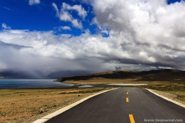 Дорога на Тибете / Фото из Китая