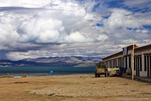 Озеро Манасаровар на Тибете / Фото из Китая