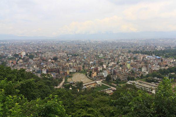 Вид на Катманду / Фото из Непала