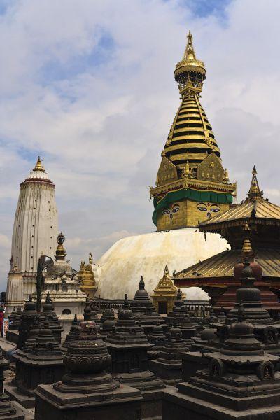 Ступа в Катманду / Фото из Непала