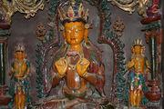 Статуя желтой тары / Китай