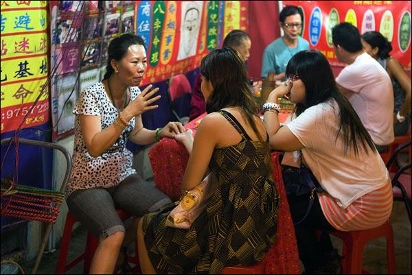 Гонконгские предсказатели / Фото из Гонконга