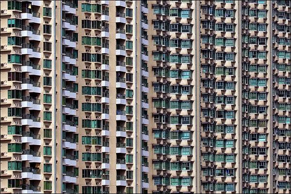 Жилые дома в Гонконге / Фото из Гонконга