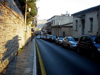 Дорога из Калабаки в Дельфы / Греция