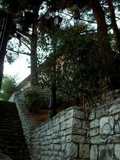 Один из двориков / Греция