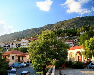 Жилая часть города / Греция
