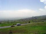 Дорога начинает идти вверх / Армения