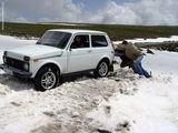 ...сели в снег / Армения