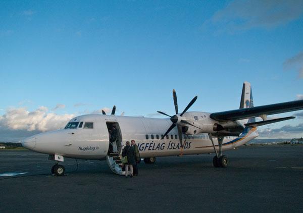 Самолет компании Air Iceland / Фото из Исландии