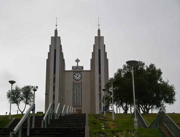 Церковь в Акюрейри / Фото из Исландии