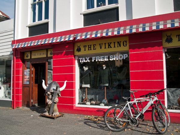 Сувенирный магазин в Акюрейри / Фото из Исландии