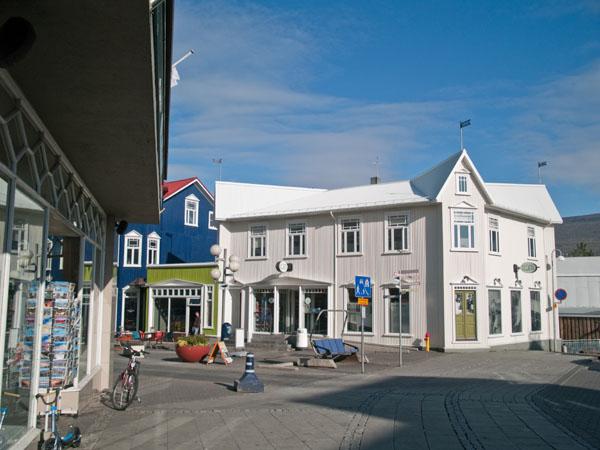 Центр города Акюрейри / Фото из Исландии
