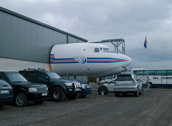Музей Flugsafn Islands рядом с аэропортом Акюрейри / Фото из Исландии