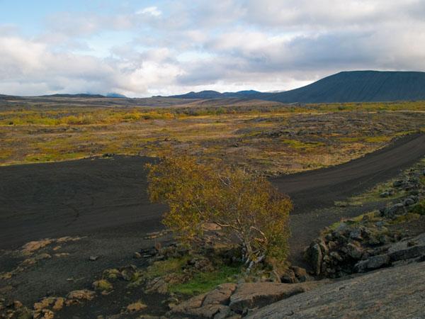 Окрестности вокруг Grjótagjá и вулкан Hverfjall / Фото из Исландии