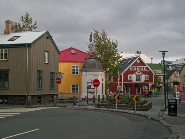 В центре Рейкьявика / Фото из Исландии