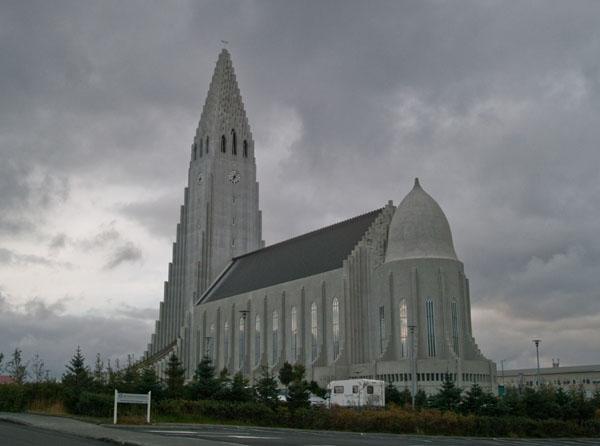 Hallgrimskirkja в Рейкьявике / Фото из Исландии