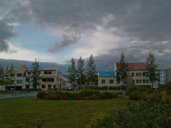 Парк в Рейкьявике / Фото из Исландии