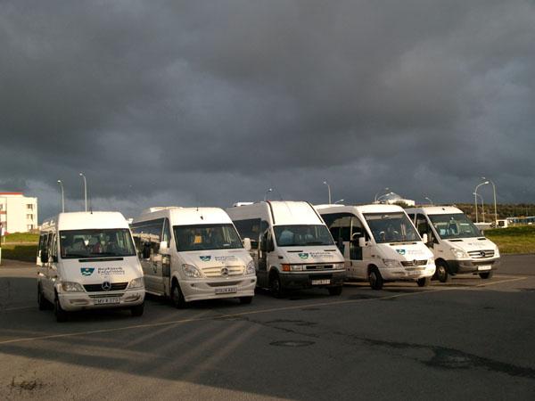 Экскурсионные автобусы Рейкьявика / Фото из Исландии