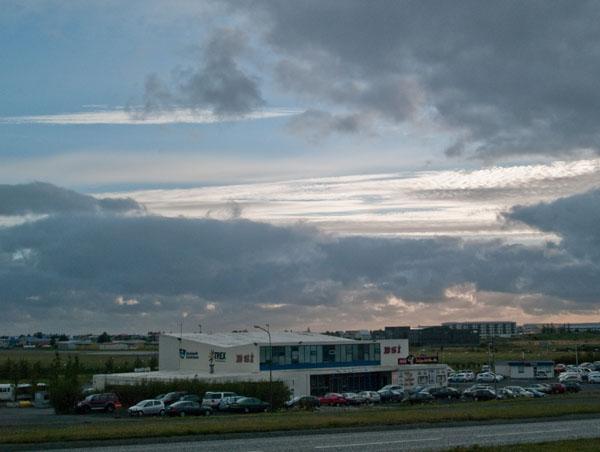 Автобусная станция BSI в Рейкьявике / Фото из Исландии
