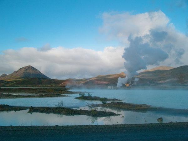 Термальная станция Myvant Nature Bath / Фото из Исландии