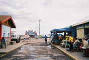 Сент-Киттс, Бастер. Забегаловка в порту, где вкусно кормят / Барбадос
