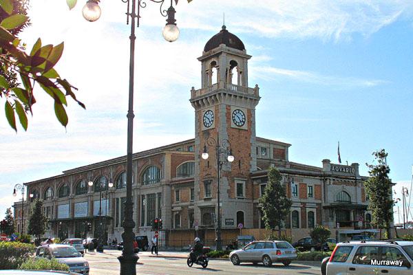 Бывший Центральный рыбный рынок в Триесте / Фото из Италии
