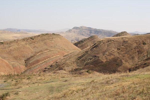Пустынные пространства вблизи Давид Гареджи, Грузия / Фото из Грузии