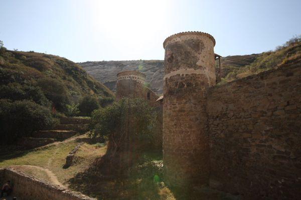 Монастырь в Давид Гареджи, Грузия / Фото из Грузии