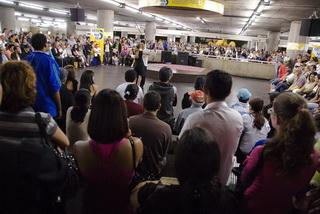 Станция метро Праса да Се / Бразилия