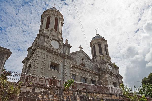 Кафедральный собор в городе Сент-Джонс, Антигуа / Фото из Антигуа и Барбуды