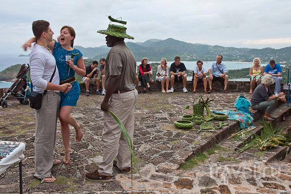 Туристы на Антигуа / Фото из Антигуа и Барбуды