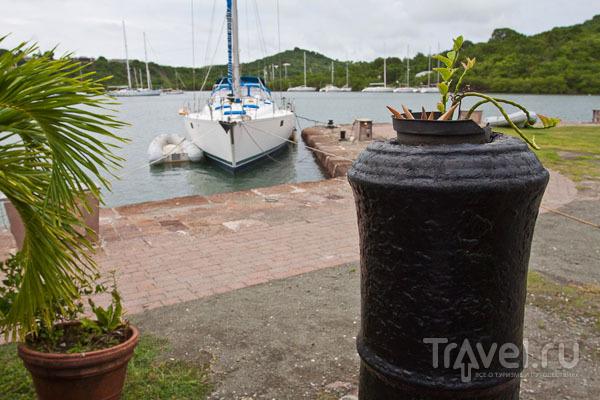Место проведения парусных гонок Antigua Sailing Week / Фото из Антигуа и Барбуды