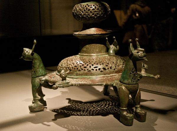 Лампада, музей арабского искусства / Фото из Индии