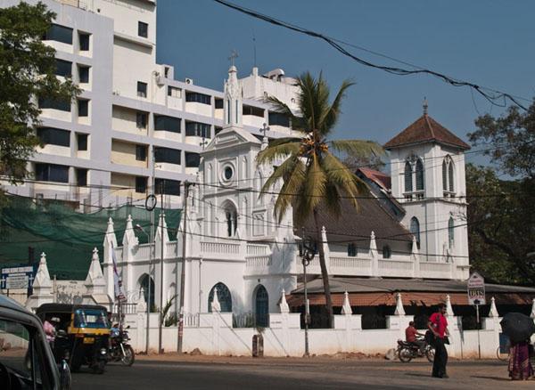 Ортодоксальная церковь Святого Георгия, Тривандрум / Фото из Индии