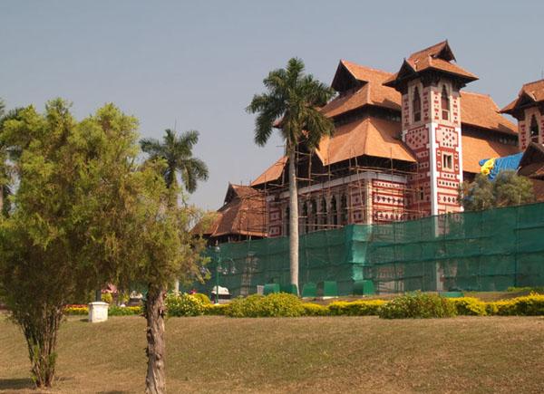 Музей в ботаническом саду Тривандрума / Фото из Индии