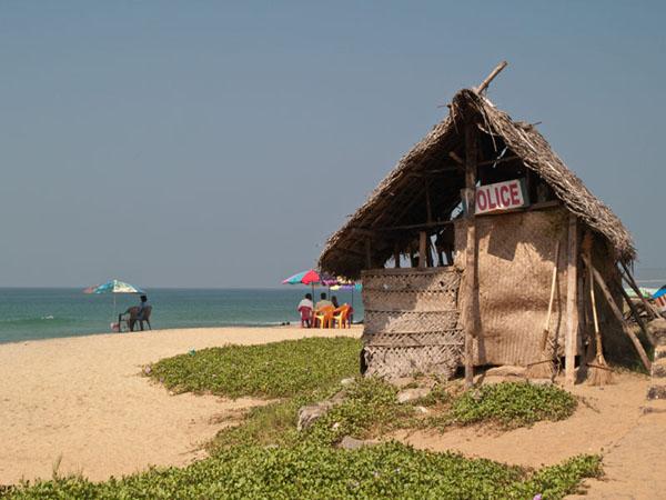 Общественный пляж в Варкале / Фото из Индии