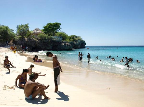 Пляж на Кюрасао / Фото с Кюрасао