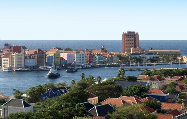 Вид на залив, Кюрасао / Фото с Кюрасао