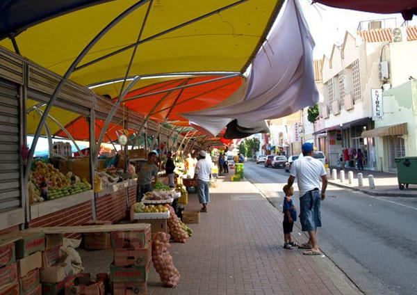 Рынок на Кюрасао / Фото с Кюрасао