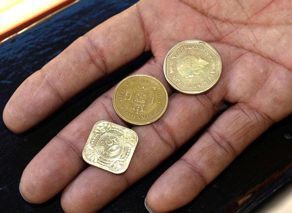Деньги Кюрасао / Фото с Кюрасао