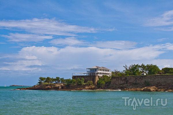Fort James в Сент-Джонсе / Фото из Антигуа и Барбуды