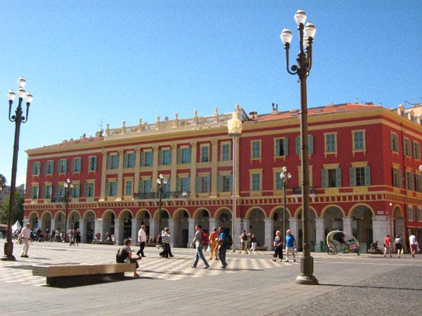 Площадь Массены в Ницце / Фото из Монако