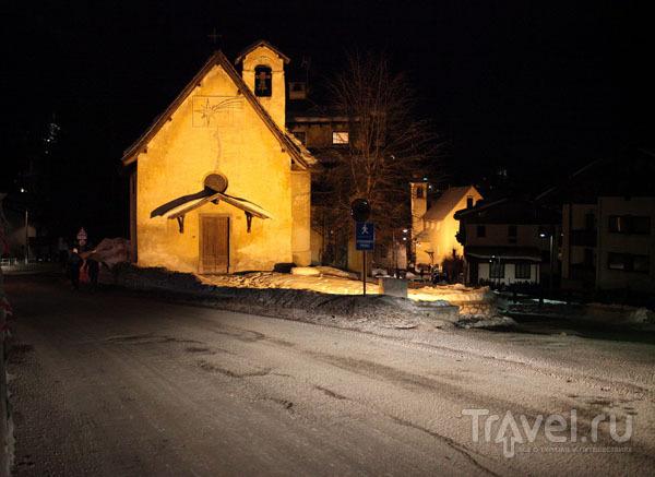 Старинная церковь в центре Кортины / Фото из Италии